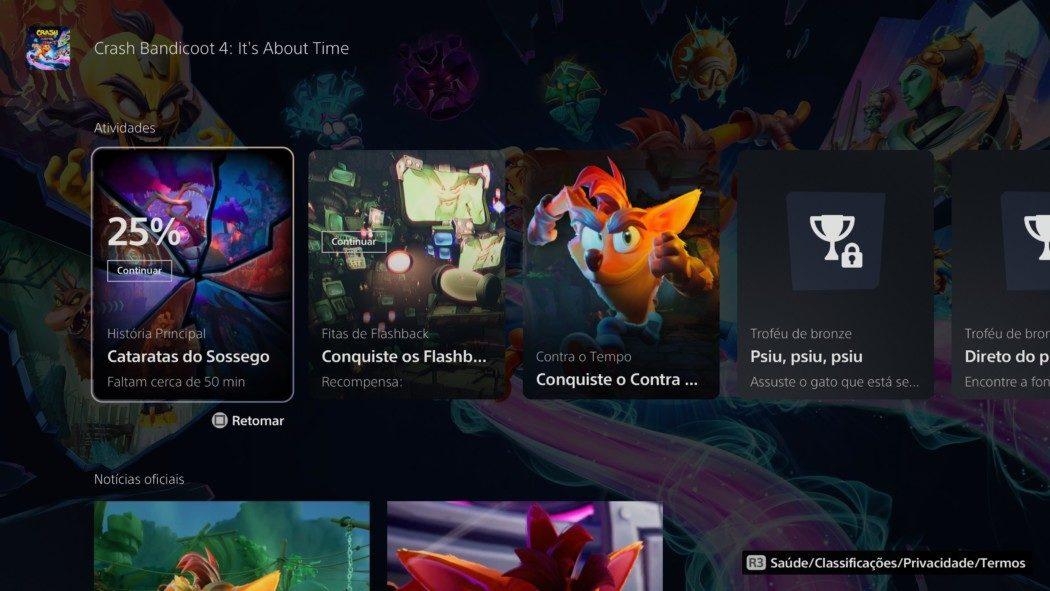 Análise Arkade - Crash Bandicoot 4: It's About Time na nova geração (PS5)