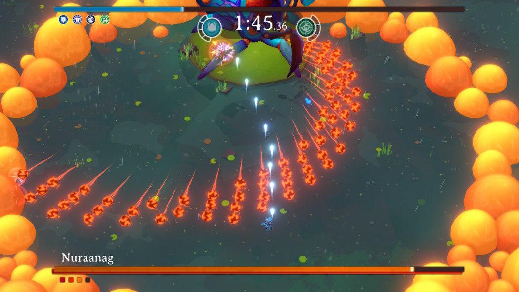 Análise Arkade: Godstrike, uma mistura cruel de boss rush com bullet hell