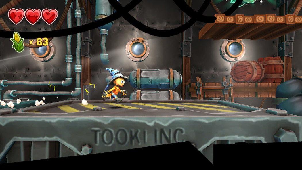 Análise Arkade: Stitchy in Tooki Trouble, um jogo de plataforma 2.5D para iniciantes