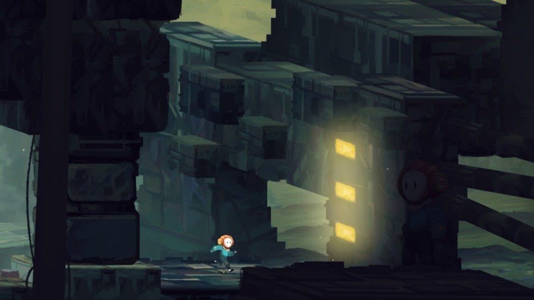 Preview Arkade: Out of Line, uma fuga pintada à mão com bons puzzles