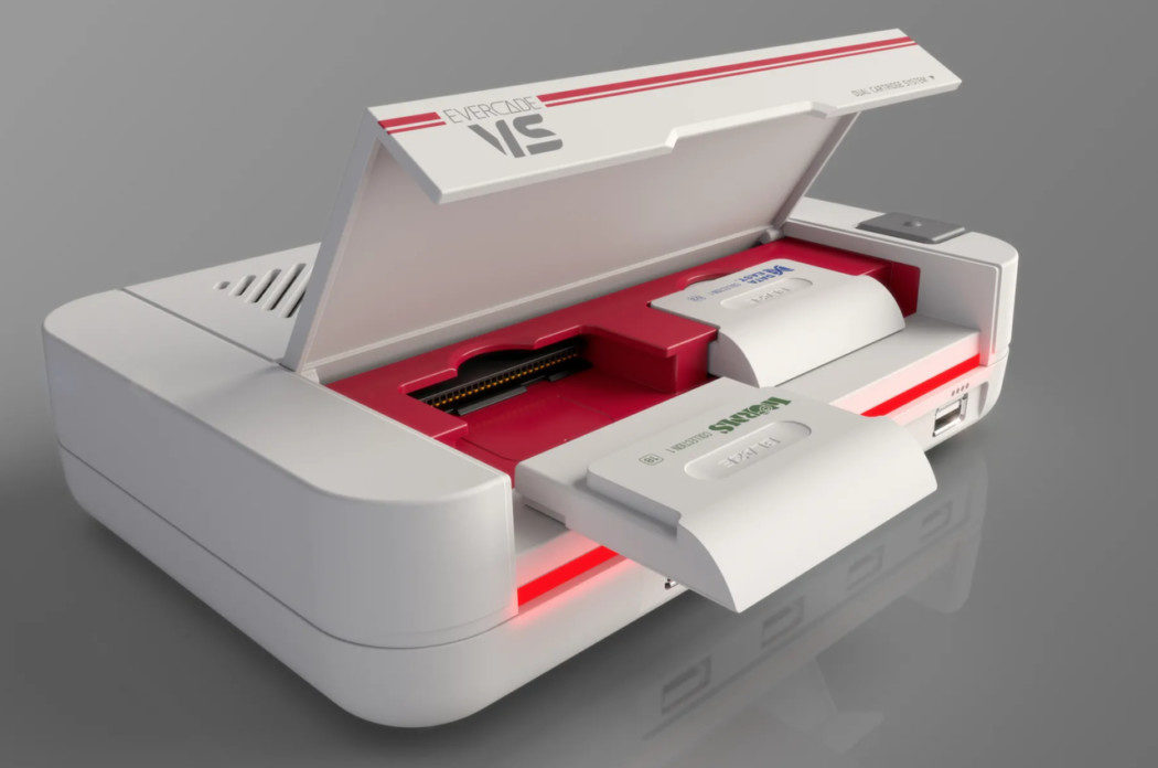 """O Evercade VS é um console retrô com cartuchos que promete """"emulação de ponta"""""""