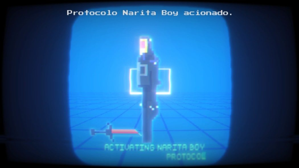 Análise Arkade: Neon, Pixels e anos 80 em Narita Boy