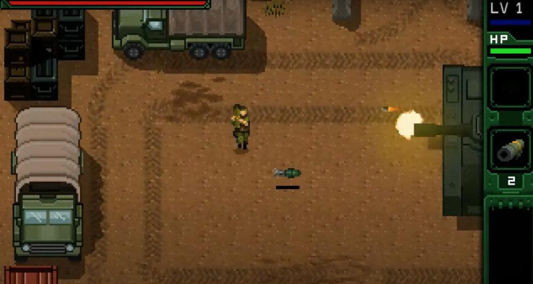 UnMetal é um game baseado nos games Metal Gear de MSX