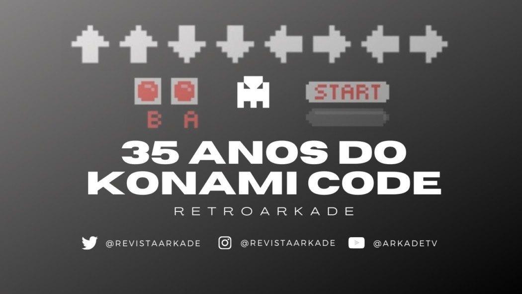 """RetroArkade: 35 anos do Konami Code, o """"cheat"""" mais famoso do mundo dos games"""