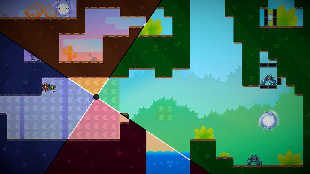 Análise Arkade: World Splitter, um puzzle game que vai dar um nó no seu cérebro