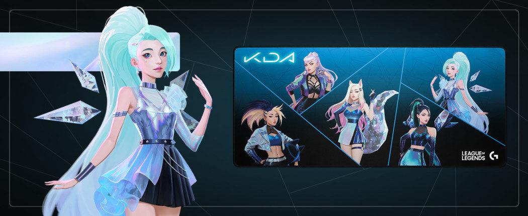 Parceria entre Logitech e Riot Games apresenta produtos do grupo virtual K/DA