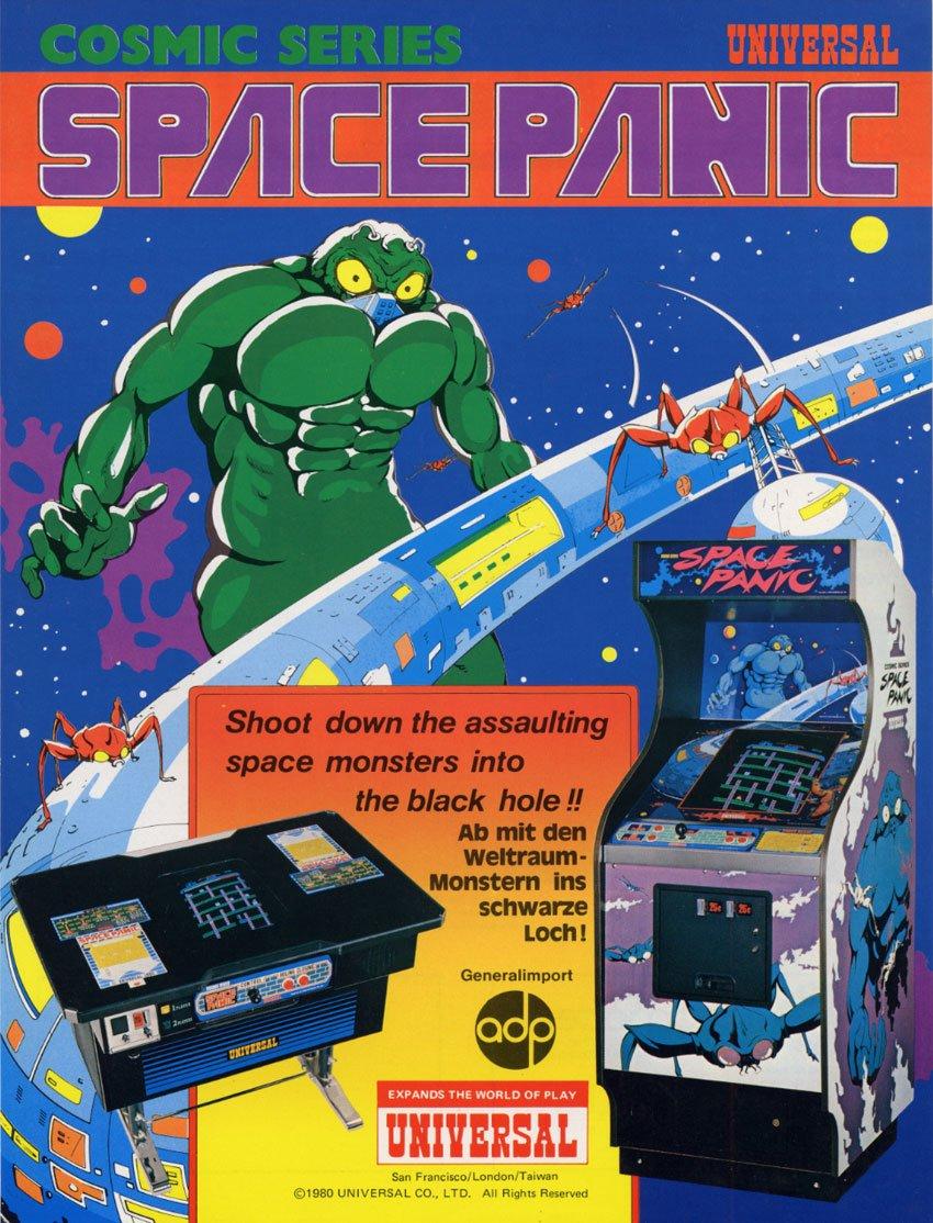 Começou assim: Space Panic, o primeiro game de plataforma de todos