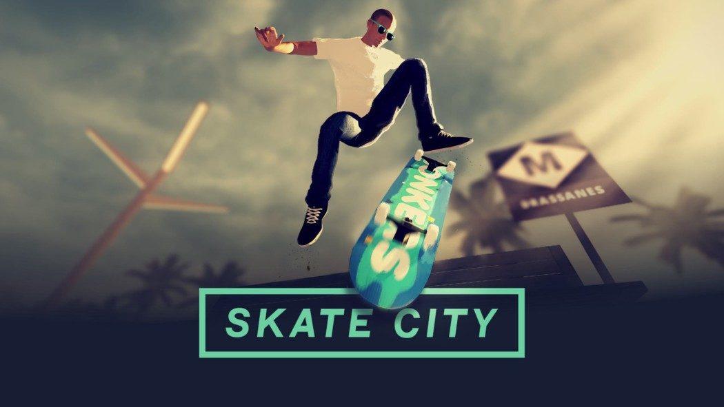 """Análise Arkade: Skate City traz """"lo fi beats"""" e boas mecânicas com manobras em 2.5D"""