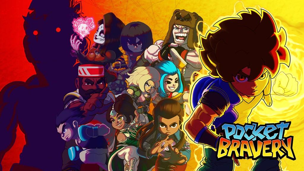 Pocket Bravery: promissor jogo de luta 2D brasileiro busca financiamento coletivo