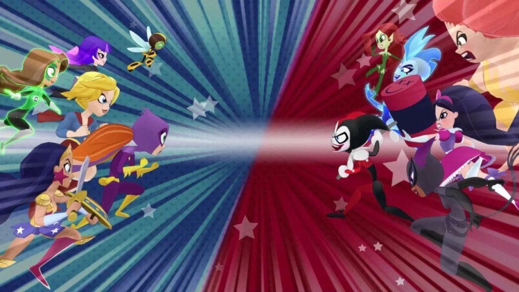 Análise Arkade - DC Super Hero Girls: Teen Power e o outro lado da DC Comics