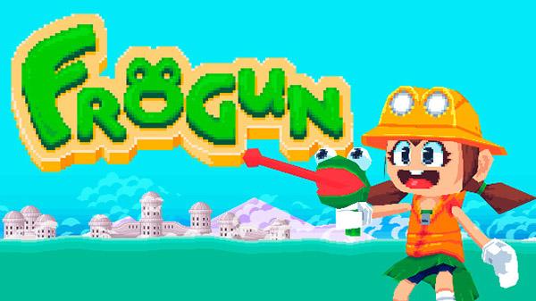 Conheça Frogun, um simpático platformer com um arma-sapo