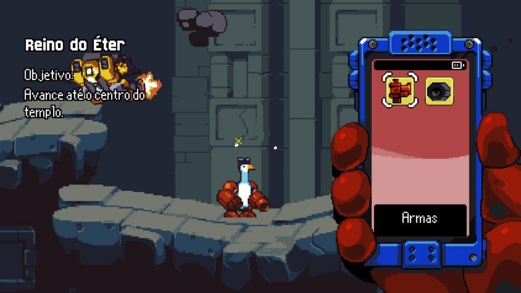 Análise Arkade: Mighty Goose é tipo Metal Slug, mas com um ganso (e isso é ótimo)
