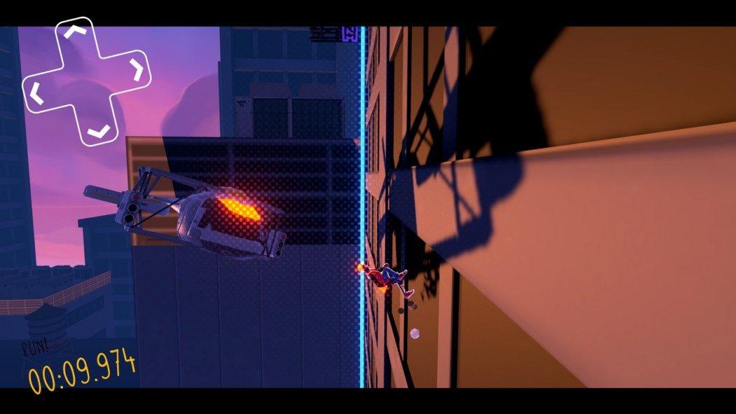 Análise Arkade: Aerial_Knight's Never Yield, um endless runner com muita atitude e pouca história