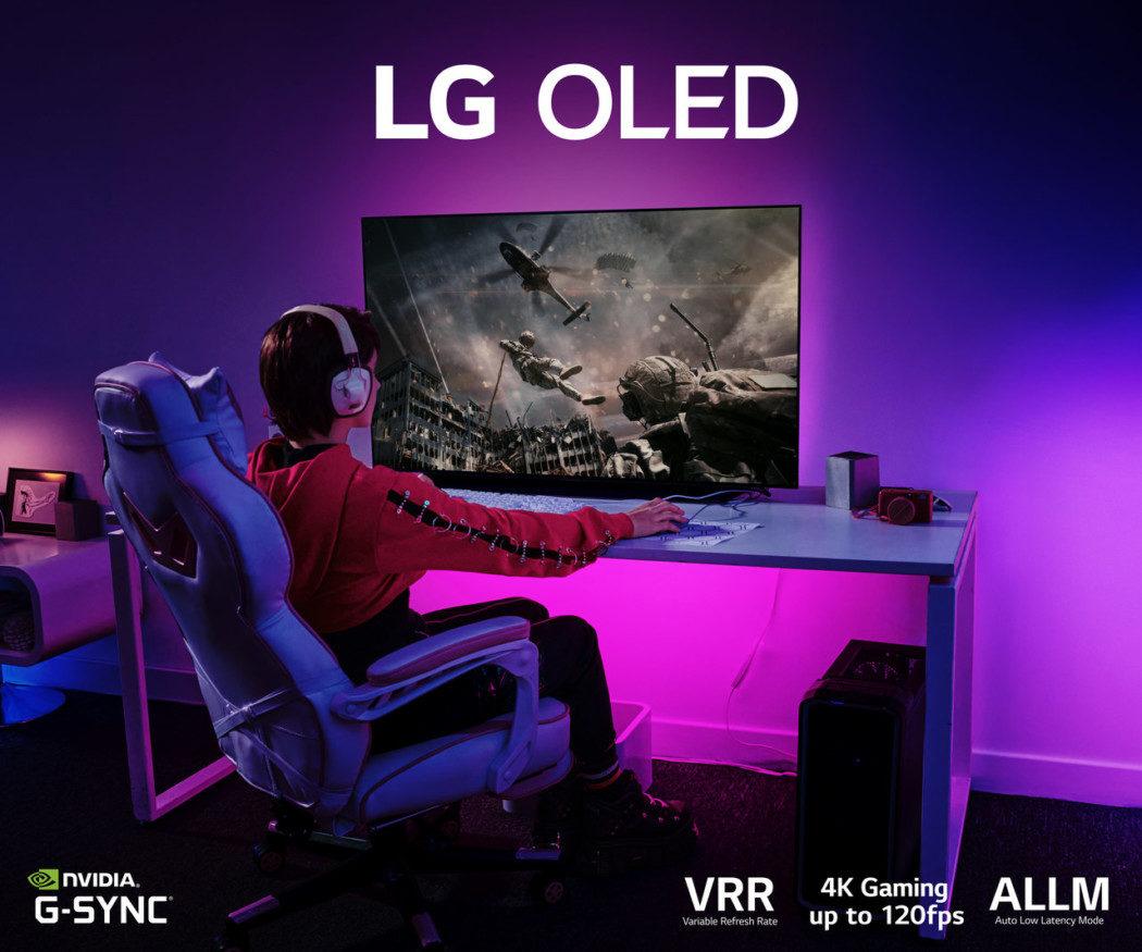 LG anuncia OLED TV 48C1, TV que promete oferecer o melhor para os games