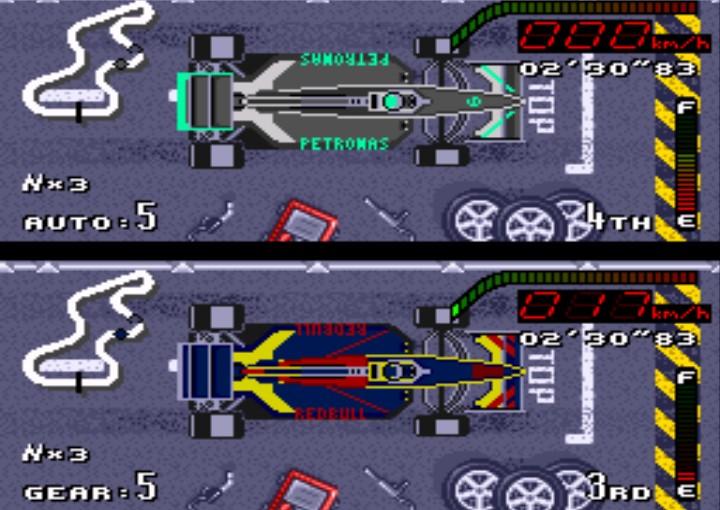 Hack de Top Gear adicionou carros atuais da Fórmula 1