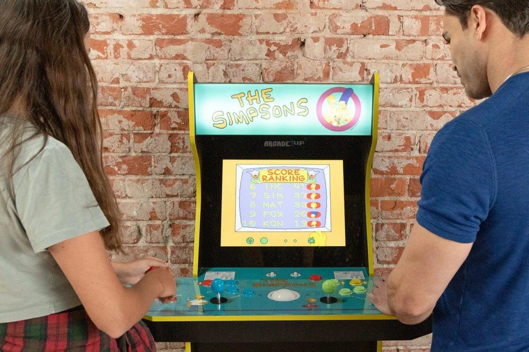 Arcade1Up irá relançar o gabinete de The Simpsons Arcade Game