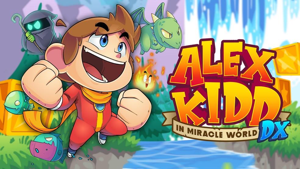 Alex Kidd in Miracle World DX vai chegar antes ao Brasil! Confira o novo trailer do game!