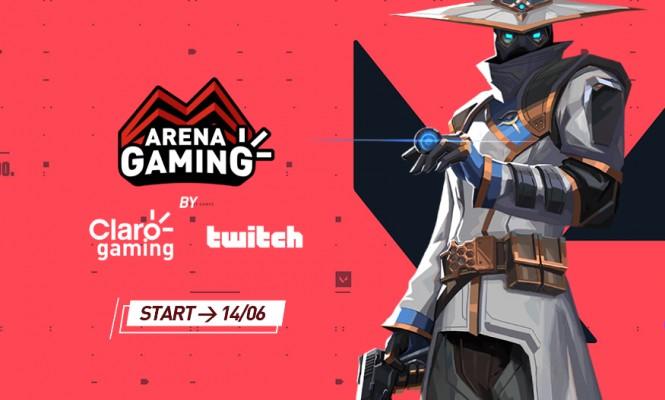 Claro anuncia Arena Gaming, torneio de esports com premiação de R$ 25 mil!