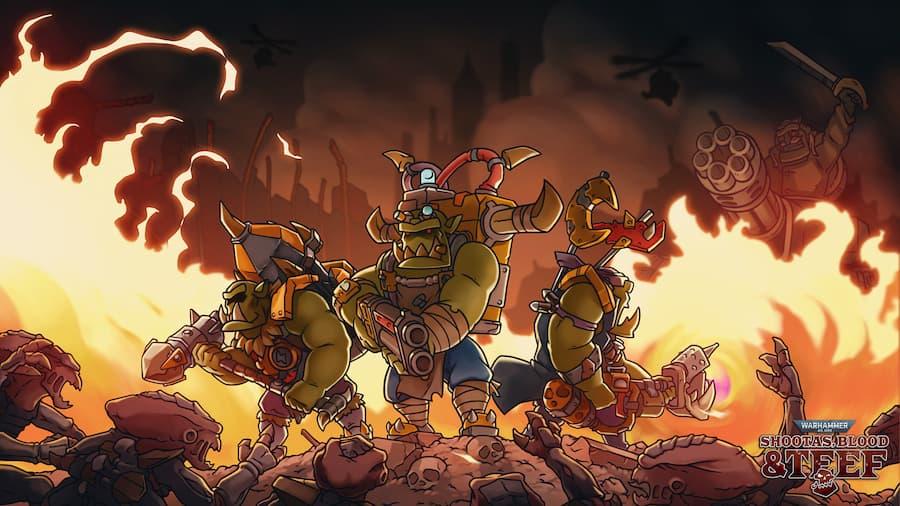 Warhammer 40K vai ganhar frenético jogo de tiro 2D no estilo Metal Slug, confira!