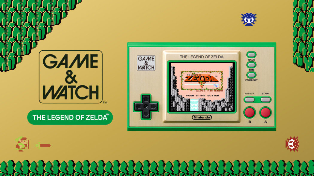 Nintendo vai lançar um novo Game & Watch para celebrar os 35 anos de Zelda