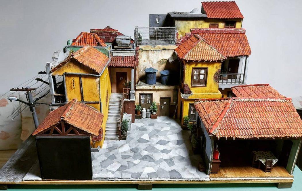 Designer cria maquetes incríveis baseadas na vila e em outros cenários do Chaves