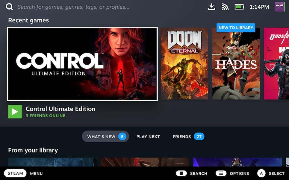 Steam Deck aceitará outros sistemas operacionais e até games da Epic Games Store