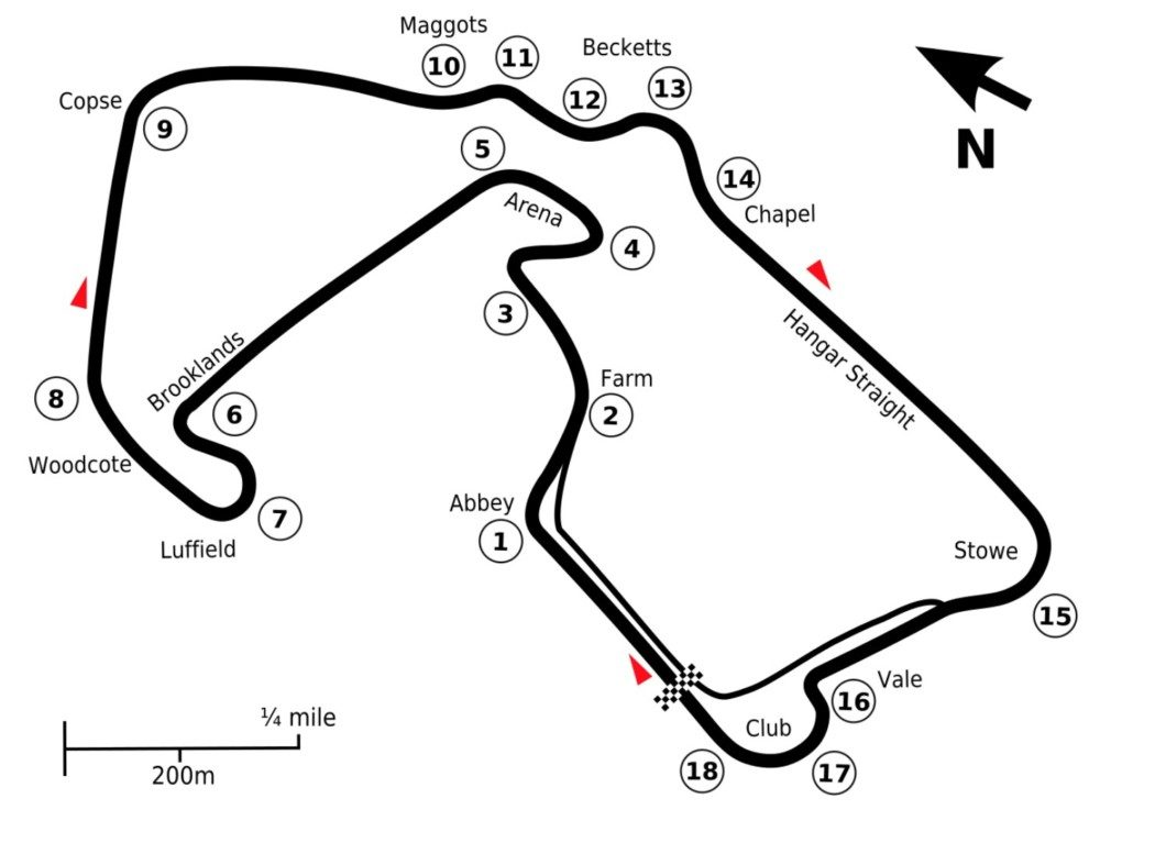 F1 2020 - Conhecendo melhor Silverstone, o berço da Fórmula 1