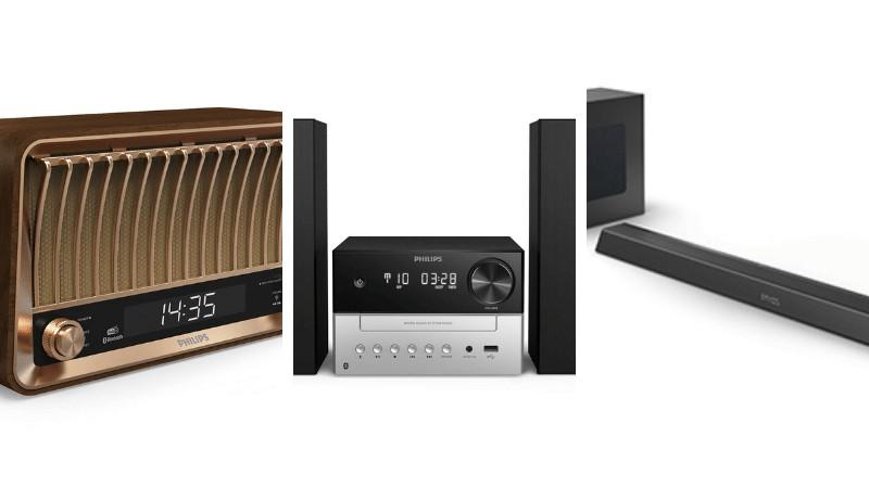 Philips anuncia linha de produtos sonoros, incluindo soundbars com Dolby Atmos