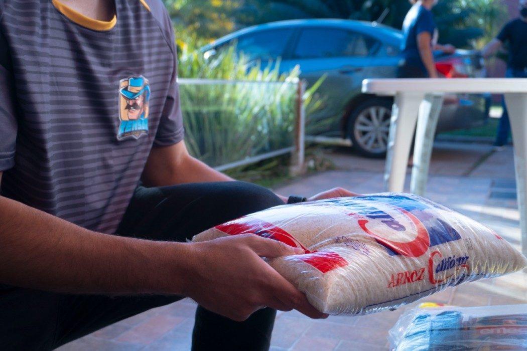 Play do Bem –  Rensga doa 150kg em alimentos para instituição filantrópica!