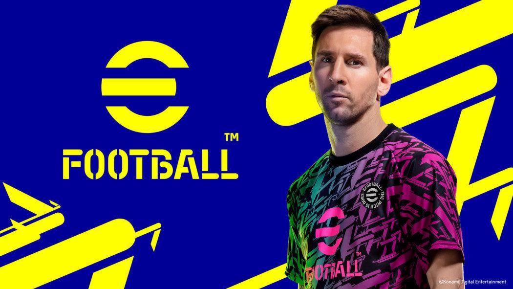 PES agora é só eFootball, e será free-to-play