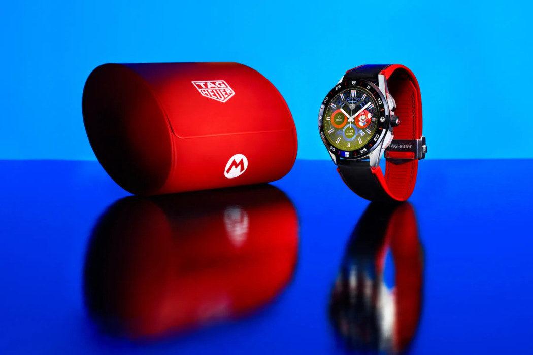 Parceria de Mario com Tag Heuer gerou um relógio de luxo de R$ 11 mil