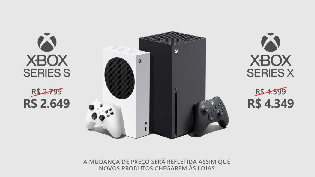 Microsoft diminui os preços sugeridos de consoles e acessórios Xbox no Brasil