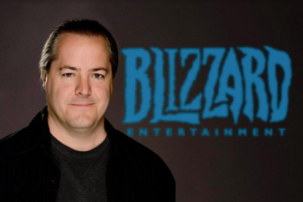 J. Allen Brack, presidente da Blizzard, renuncia a seu cargo