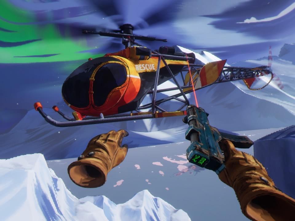 Arkade VR: Fracked, um breve e incrível show de ação em realidade virtual