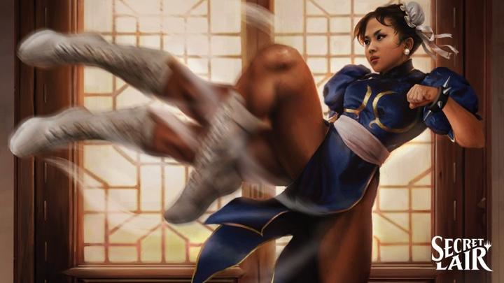 Magic anuncia produtos especiais de Street Fighter e Fortnite