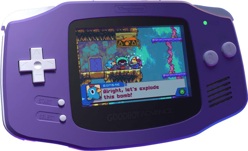 20 anos após seu lançamento, Game Boy Advance vai ganhar um novo jogo: Goodboy Galaxy!