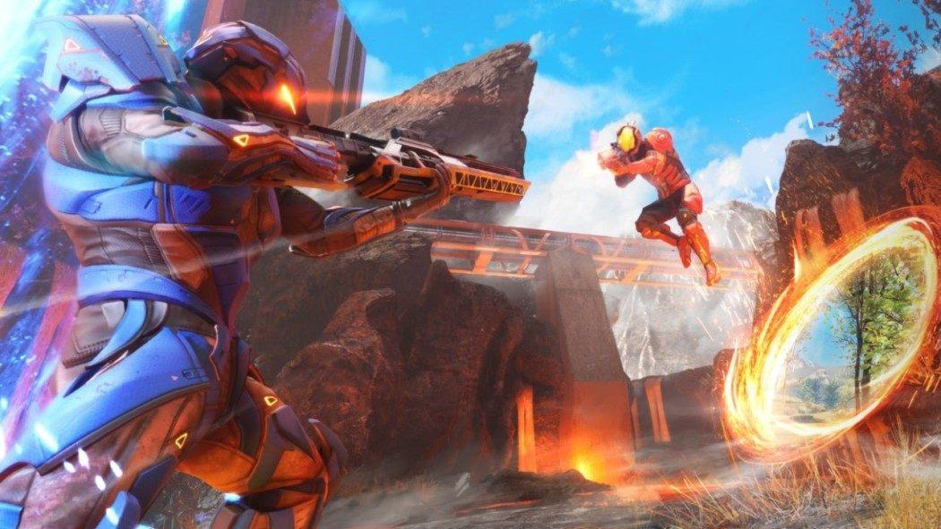 Splitgate: shooter F2P que virou febre é tipo uma mistura de Halo com Portal