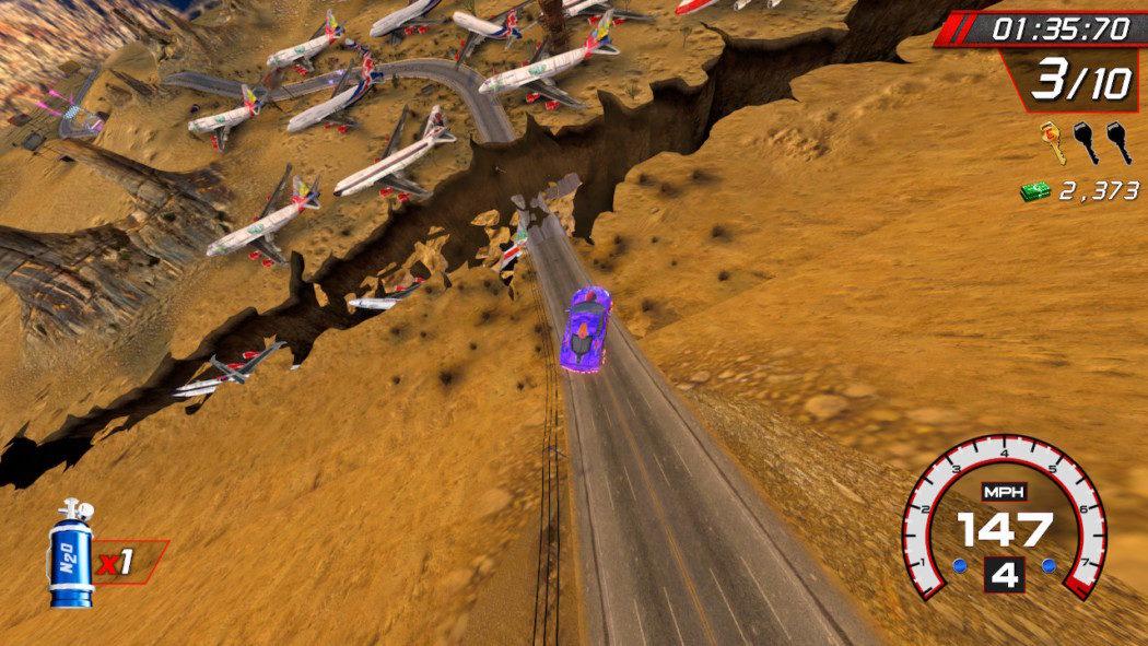Análise Arkade: Cruis'n Blast é velocidade, caos e diversão como no tempo dos fliperamas