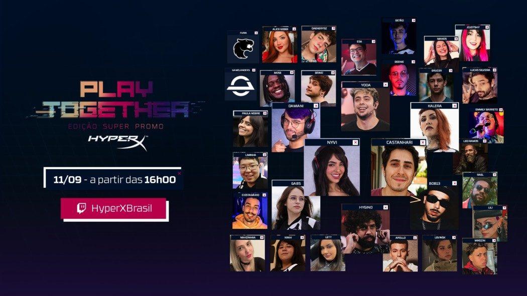 HyperX anuncia live que iniciará campanha de descontos