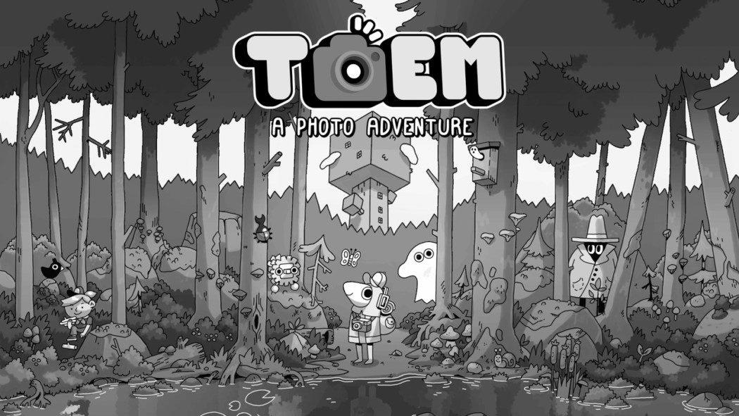 Toem é um simpático game de fotografias com arte preto e branco