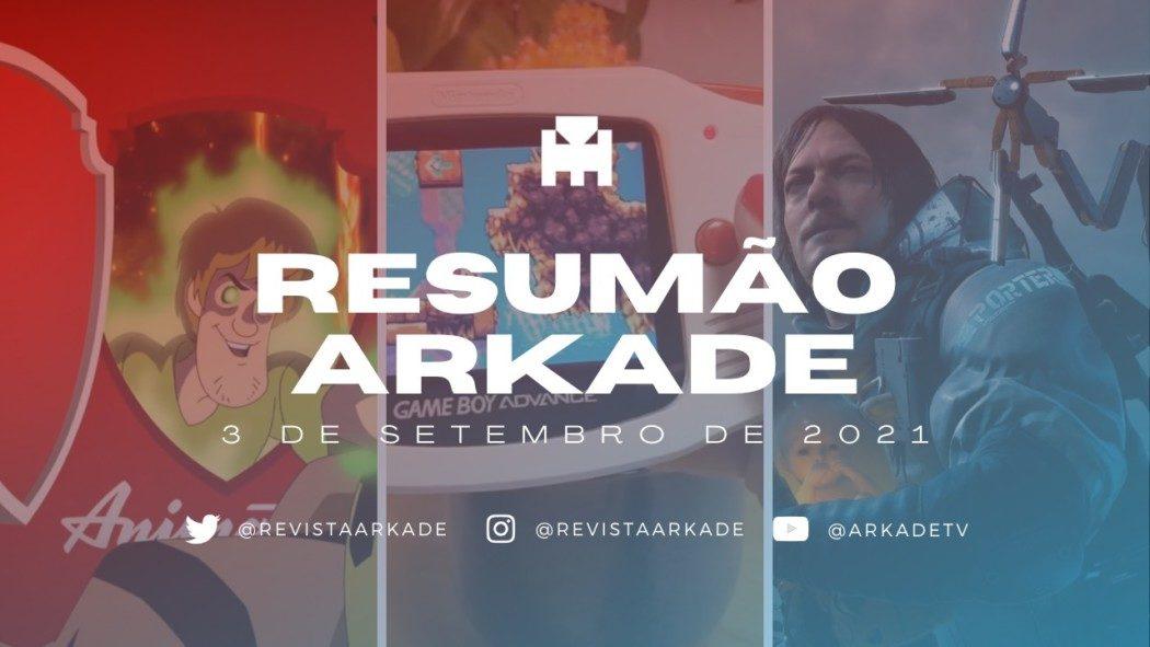 """Resumão Arkade - Novo game para o Game Boy Advance, Salsicha """"no Mortal Kombat"""" e mais"""