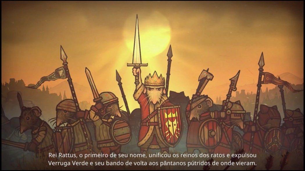 Análise Arkade: A guerra entre ratos e sapos em Tails of Iron