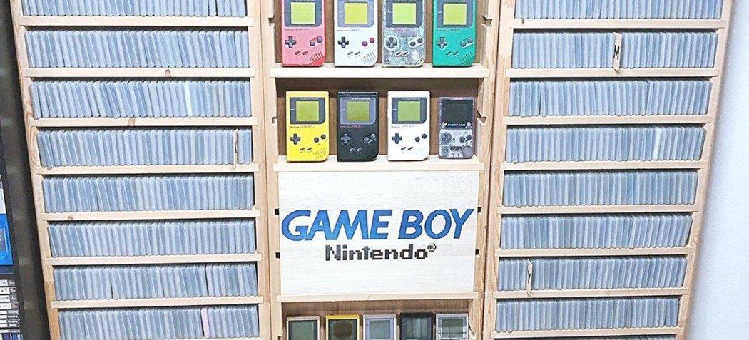 Colecionador japonês reuniu todos os 1.244 games de Game Boy em sua coleção