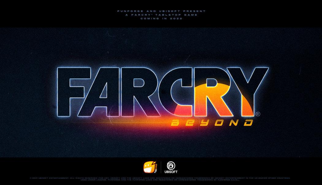 Far Cry Beyond é o jogo de tabuleiro oficial da franquia, que chega em 2022