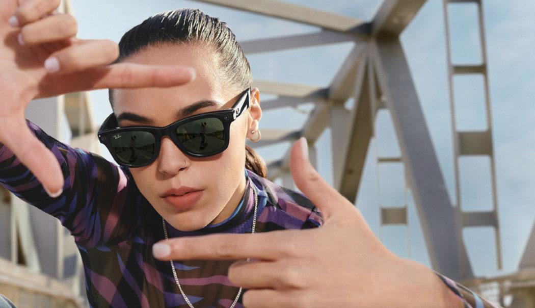 Facebook e Ray-Ban lançam óculos inteligentes em parceria