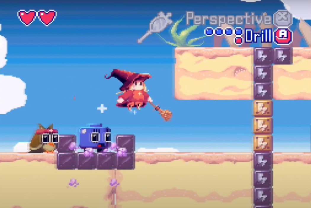 Dottie Dreads Nought é um game novo que acabou de chegar ao Super Nintendo