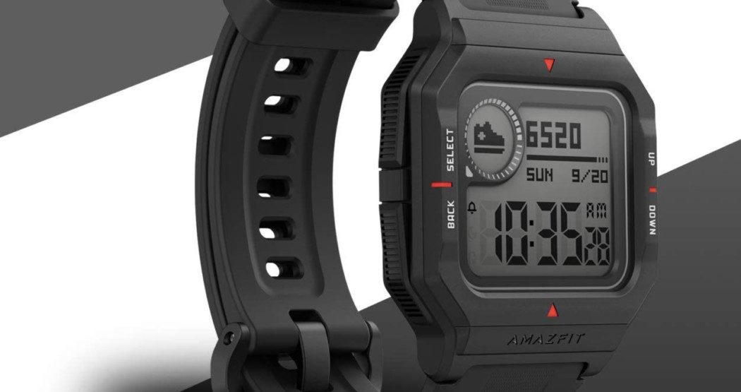 Conheça o Amazfit Neo, um smartwatch com cara de relógio dos anos 90