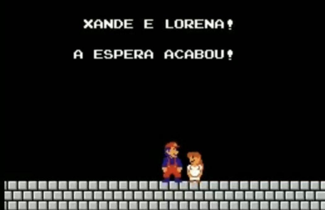 Modder faz revelação de sexo de bebê dentro de Super Mario Bros.