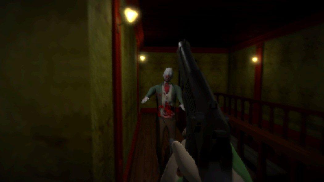 Fizeram uma versão em primeira pessoa do primeiro Resident Evil